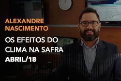 Paulo Sentelhas comenta sobre a importância da informação meteorológica na Agricultura e como as condições do tempo são responsáveis por 75% das perdas anuais nas propriedades.